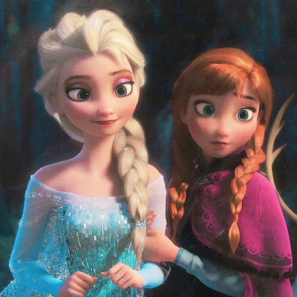 Frozen and the fish by ciara beaumount hospital school - Princesse anna et elsa ...
